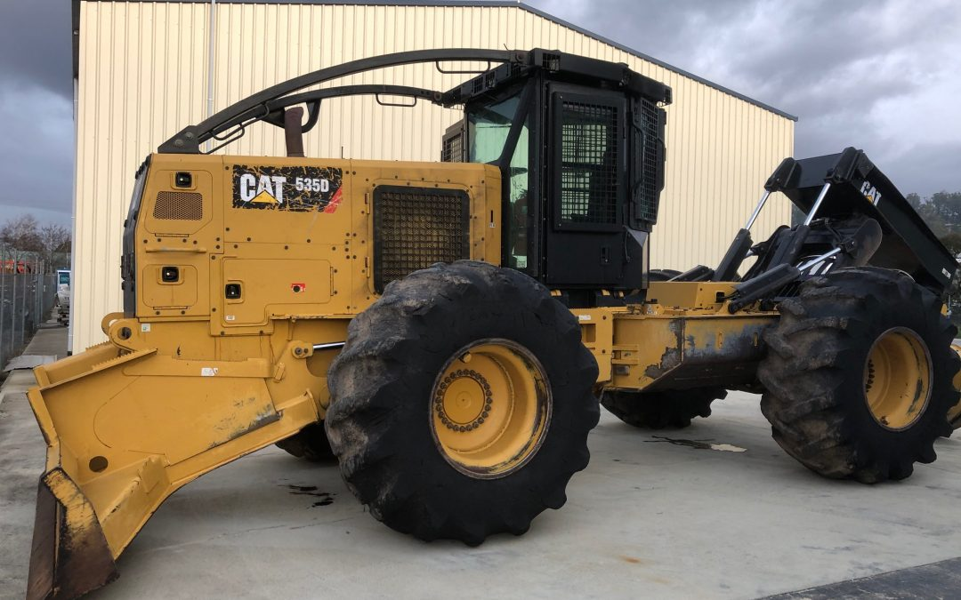 FOR SALE – 2015 Cat 535D Skidder