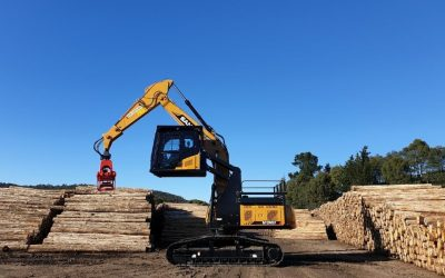 Sany forestry excavators- 6 years in Australia