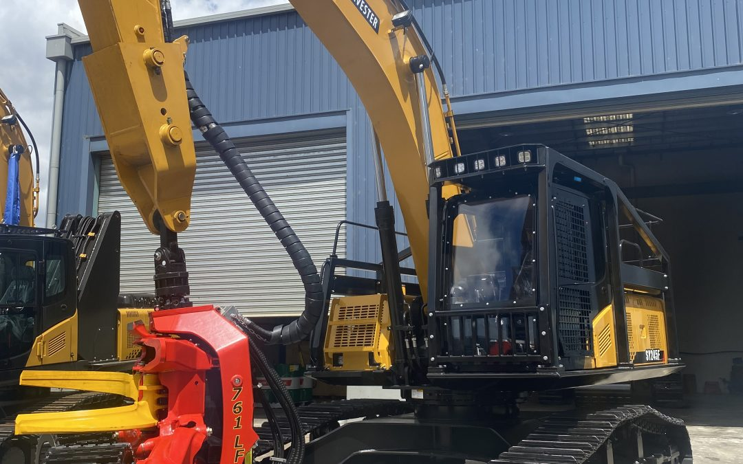 FOR SALE – New Sany SY245F/SP761 Harvester