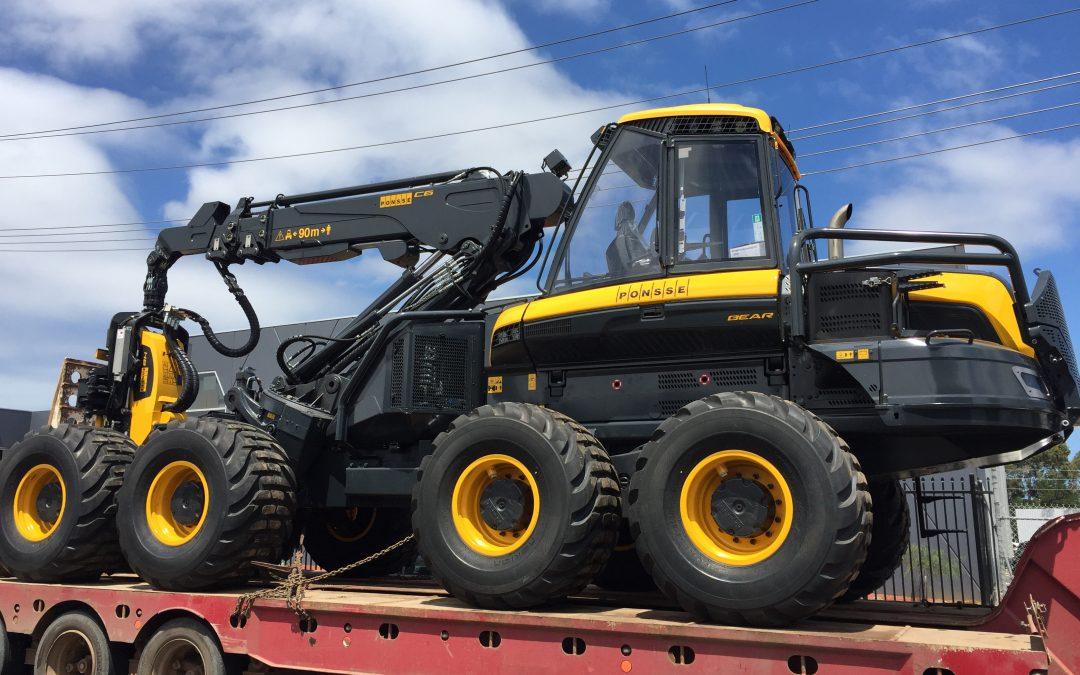 FOR SALE – New Ponsse Bear Harvester